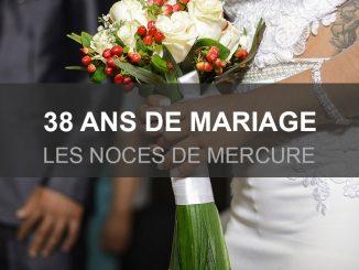 38 ans de mariage