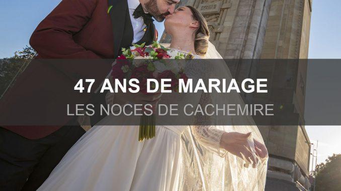 Du cachemire pour 47 ans de mariage
