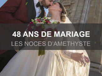 48 ans de mariage, célébrons l'améthyste