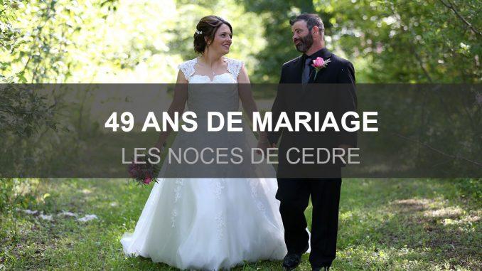 49 ans de mariage
