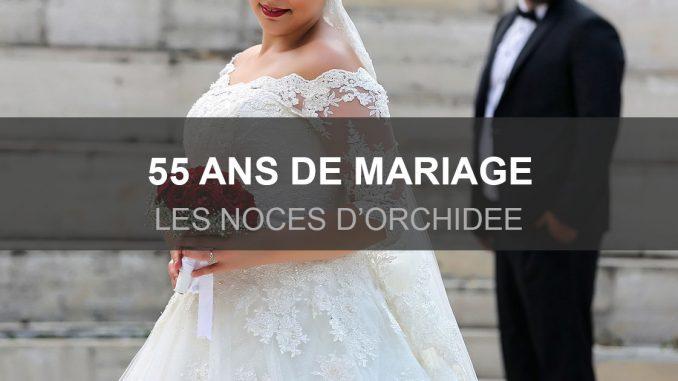 55 ans de mariage